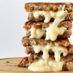 GRILLED CHEESE WITH BRIE AND PASSION FRUIT JAM