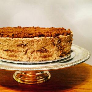 PUMPKIN GINGER SPICE ICE BOX CAKE