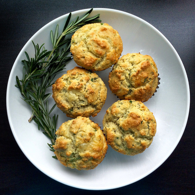 ROSEMARY PARMESAN HERB MUFFINS