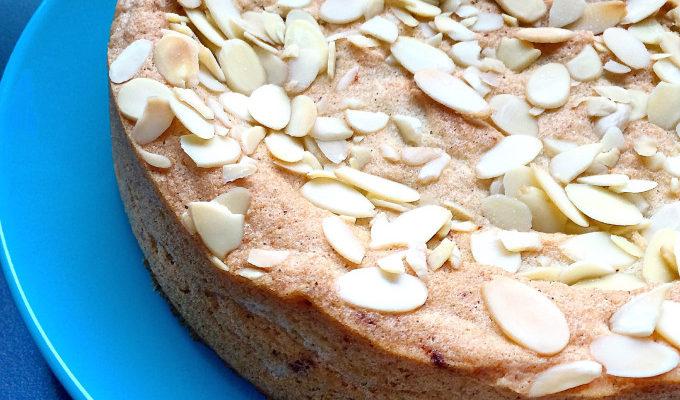 ORANGE CARDAMOM ALMOND CAKE