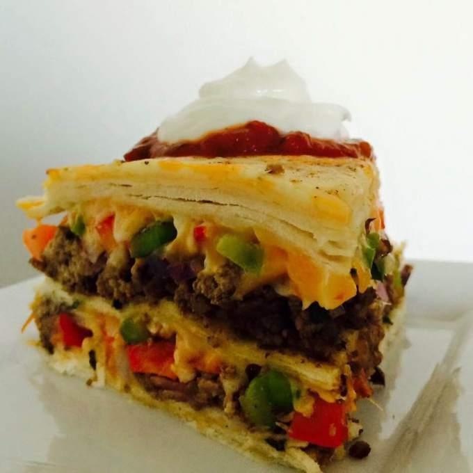 MEXICAN TORTILLA PIE