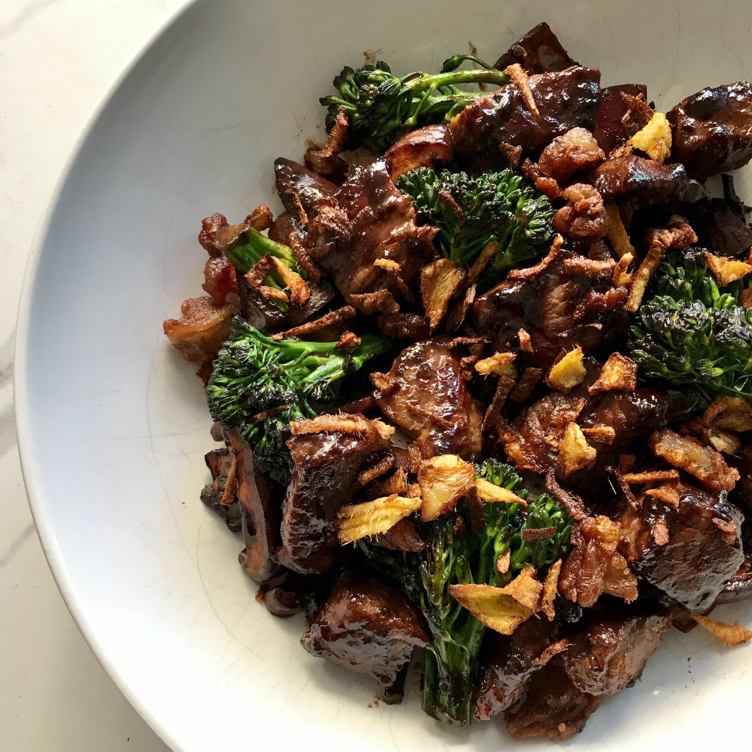 MISO GINGER BEEF