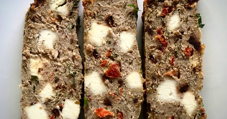 ZA'ATAR SPICED TURKEY MEATLOAF