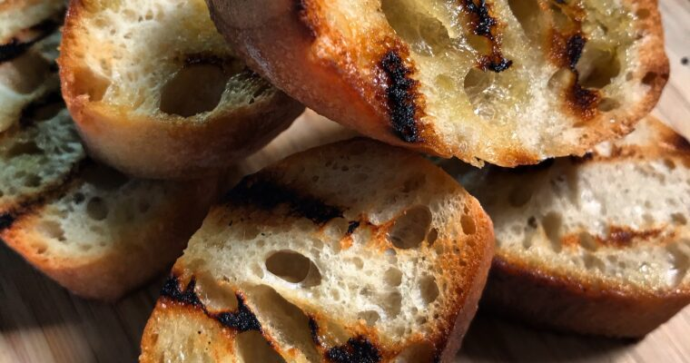 CHARRED BREAD